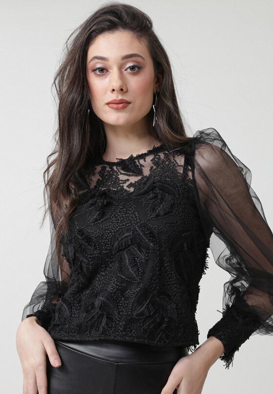 Czarna Bluzka Keeleigh