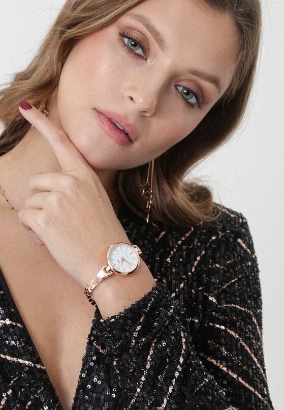 Złoto-Biały Zegarek Bateman