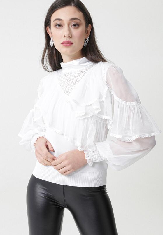 Biała Bluzka Loredana