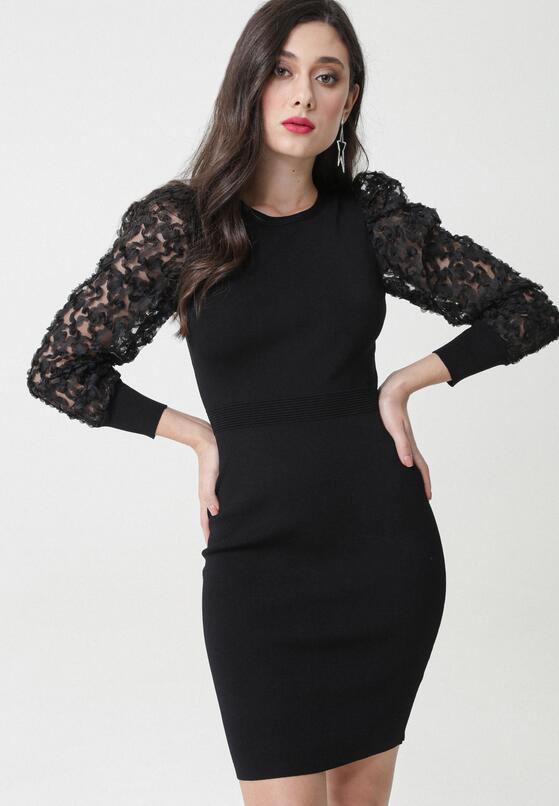 Czarna Sukienka Barbara