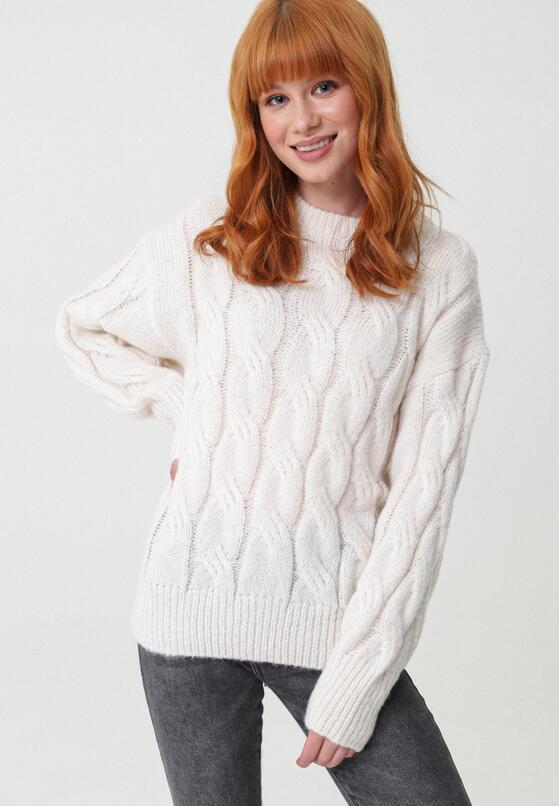 Kremowy Sweter Buttermilk
