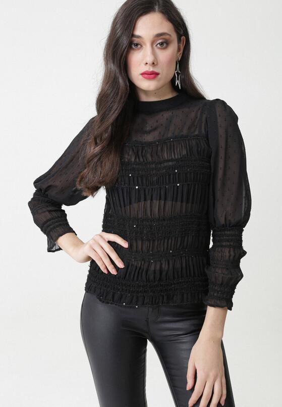 Czarna Bluzka Ludovica