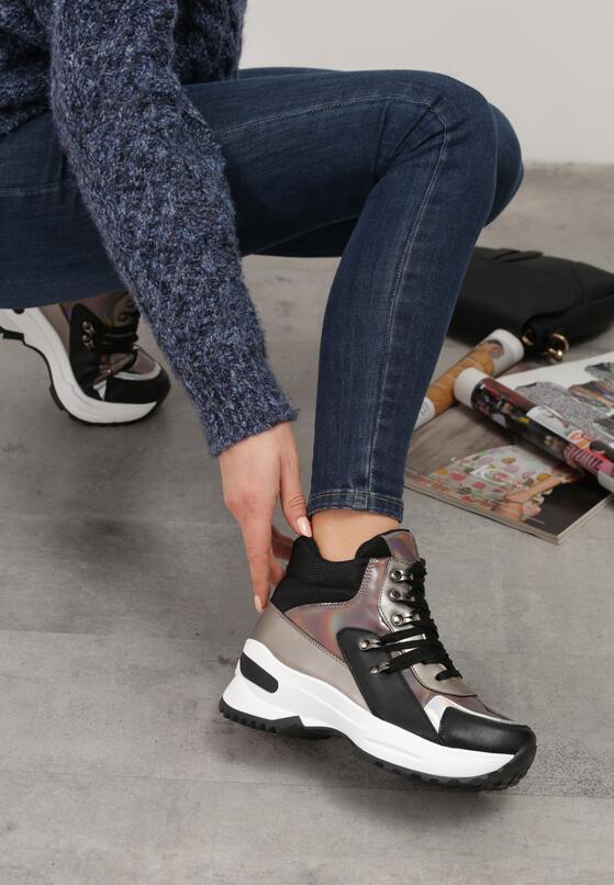 Czarne Sneakersy Xalbadora