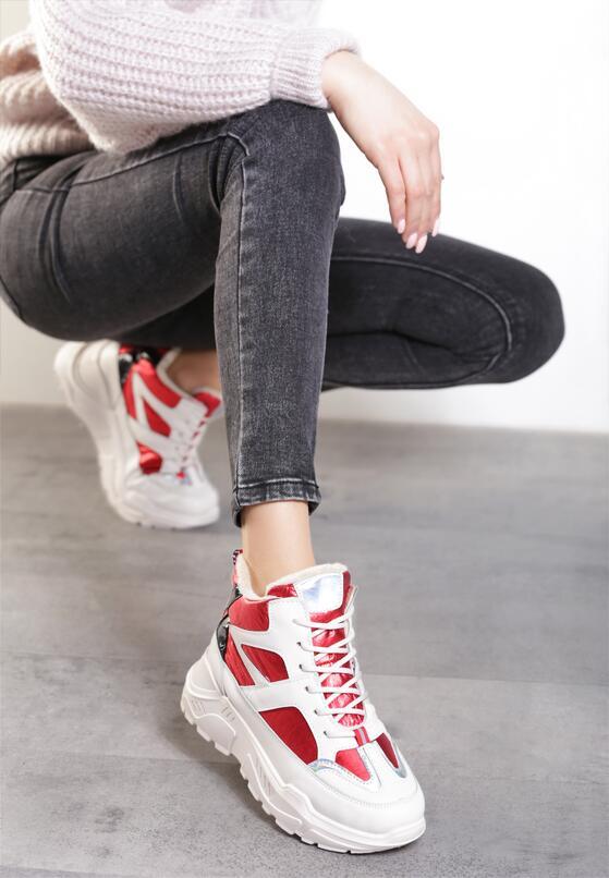 Czerwone Sneakersy Theodora
