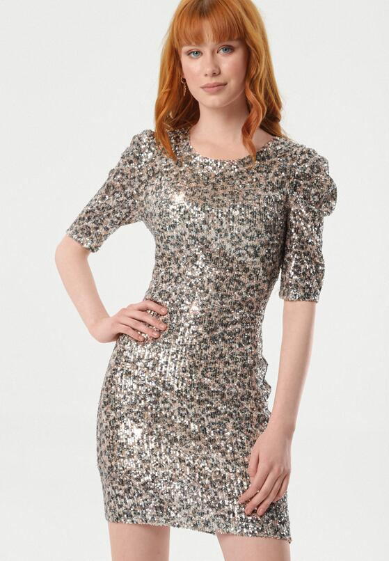 Beżowa Sukienka Alysha