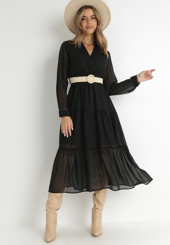 Czarna Sukienka Stacy