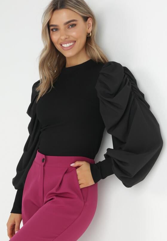 Czarna Bluzka Hafsa