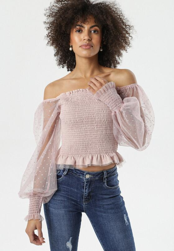 Różowa Bluzka Reanne