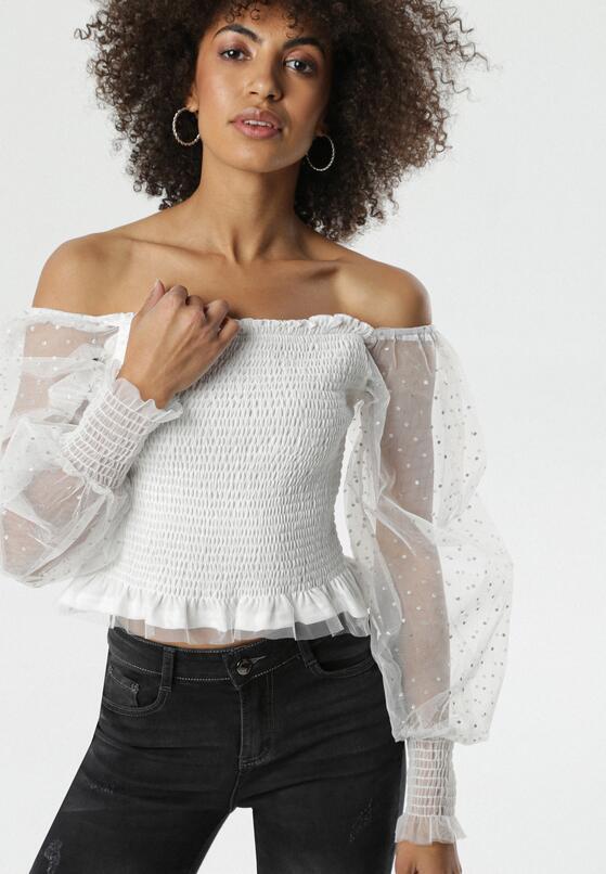 Biała Bluzka Reanne