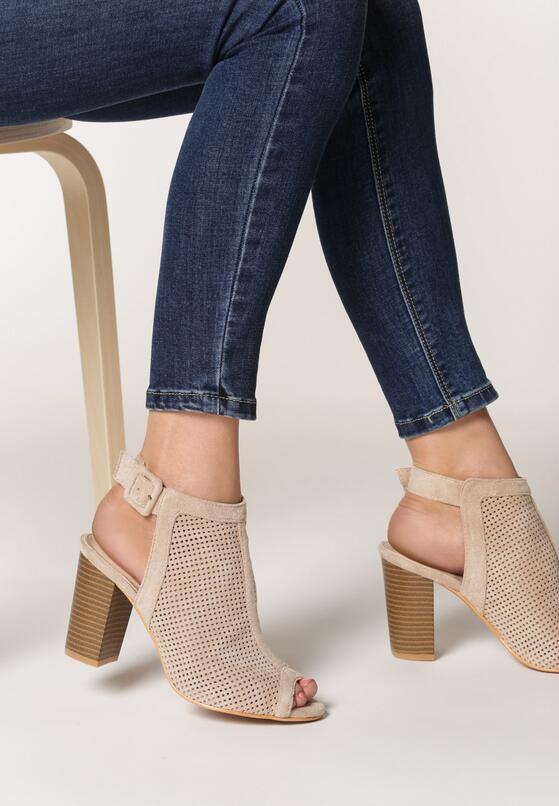 Beżowe Sandały Edmonds