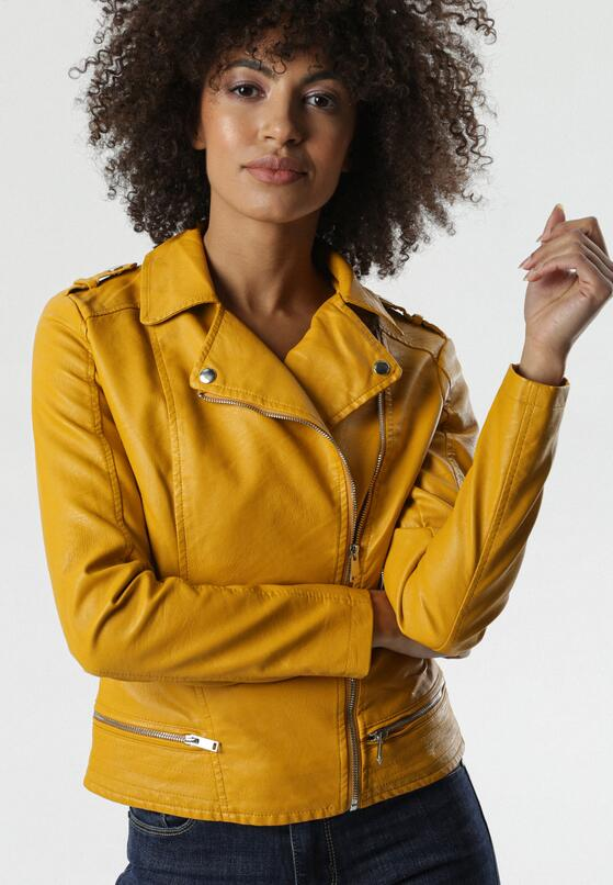Żółta Ramoneska Dayna