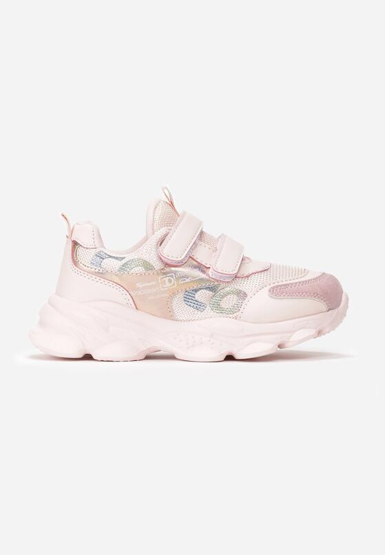 Różowe Buty Sportowe Meerab
