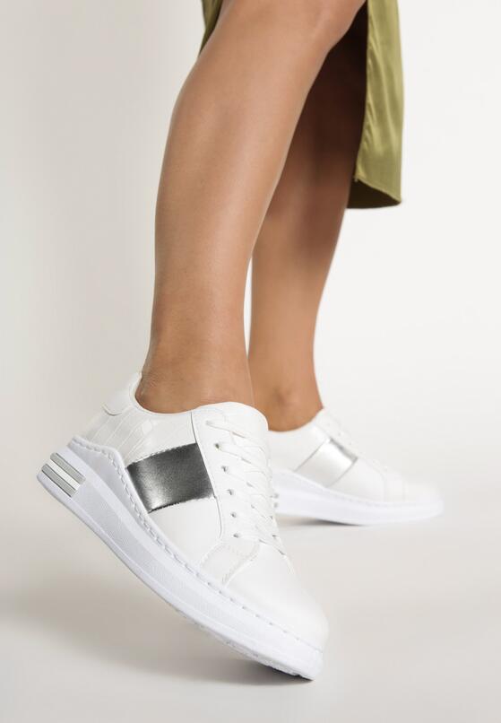 Białe Sneakersy Larson