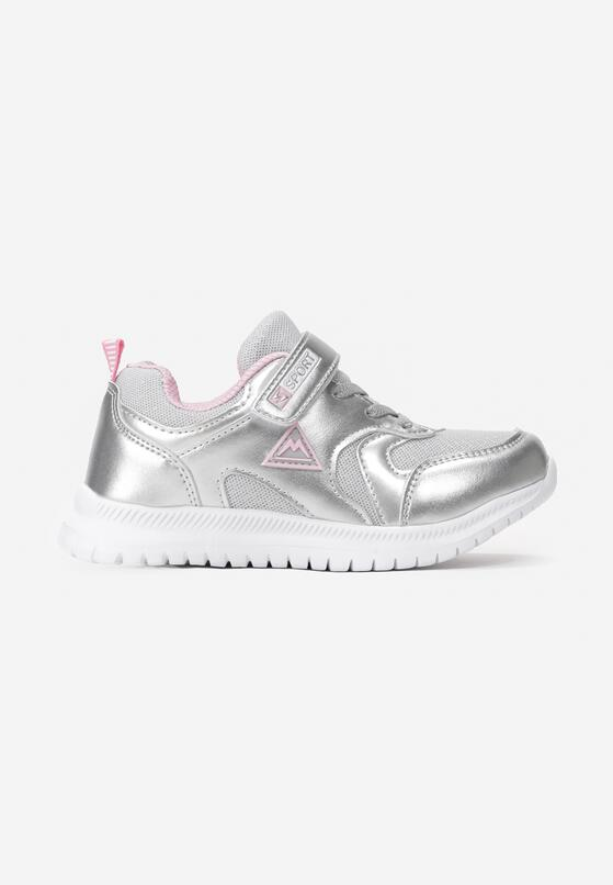 Szaro-Różowe Buty Sportowe Ayman