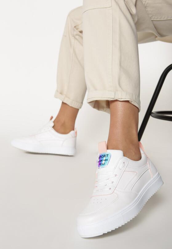Biało-Różowe Sneakersy Phillips