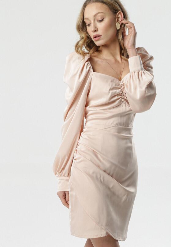 Łososiowa Sukienka Davis