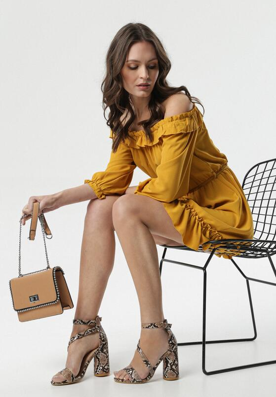 Żółta Sukienka Pritchard