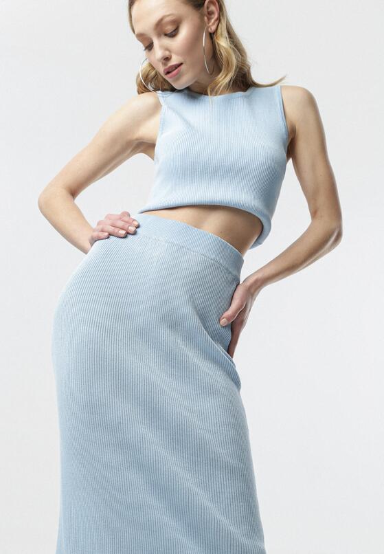 Jasnoniebieska Spódnica Liyana