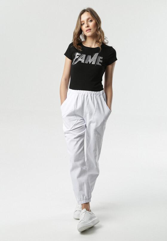 Białe Spodnie Sadiyah