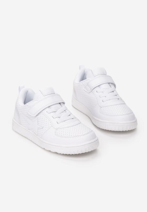 Białe Buty Sportowe Halliday
