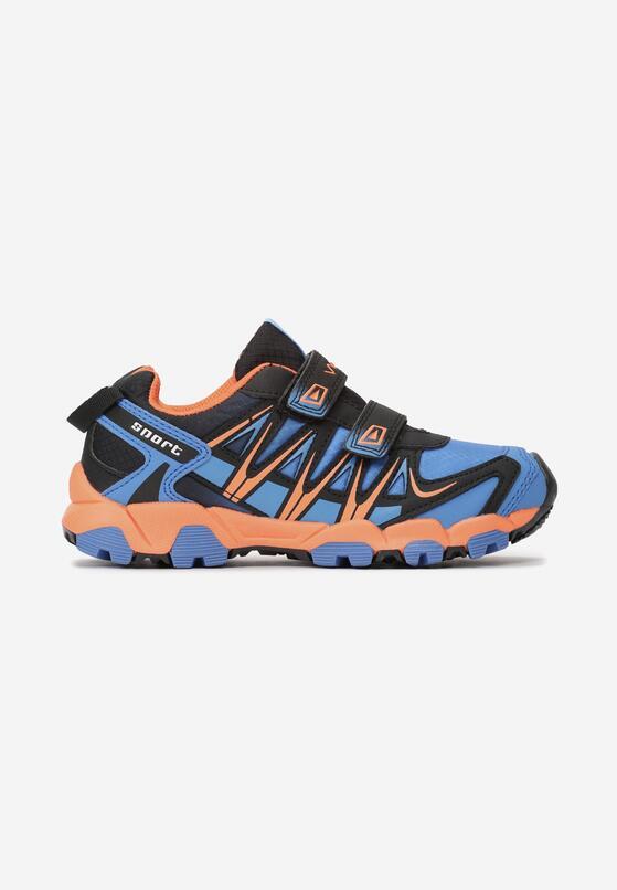 Pomarańczowo-Niebieskie Buty Sportowe Becker