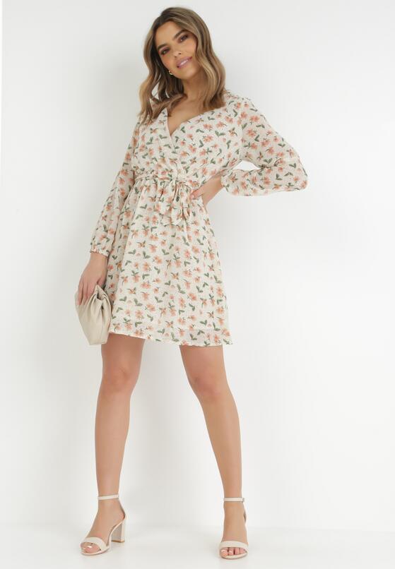 Kremowa Sukienka Olsen