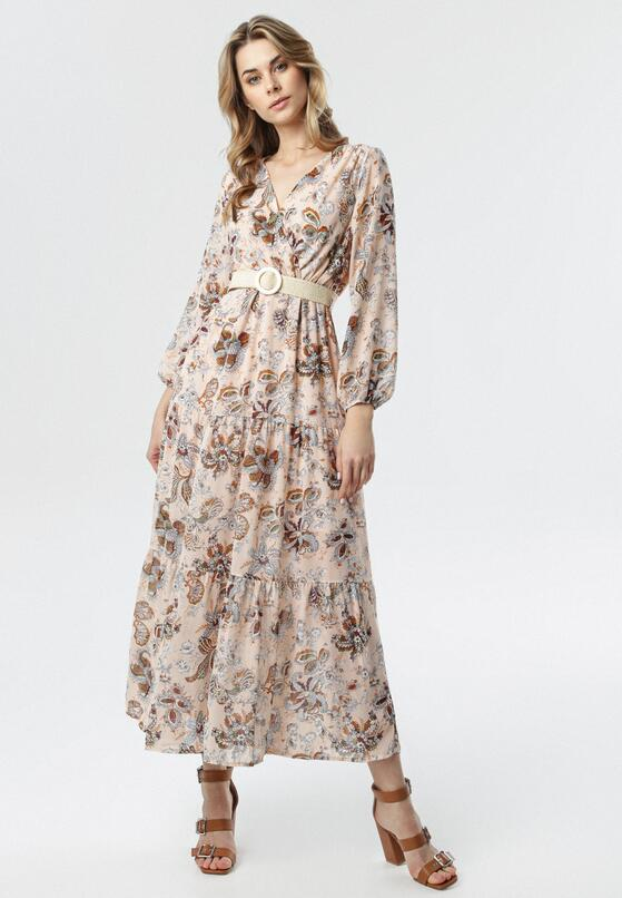 Jasnoróżowa Sukienka Esmay