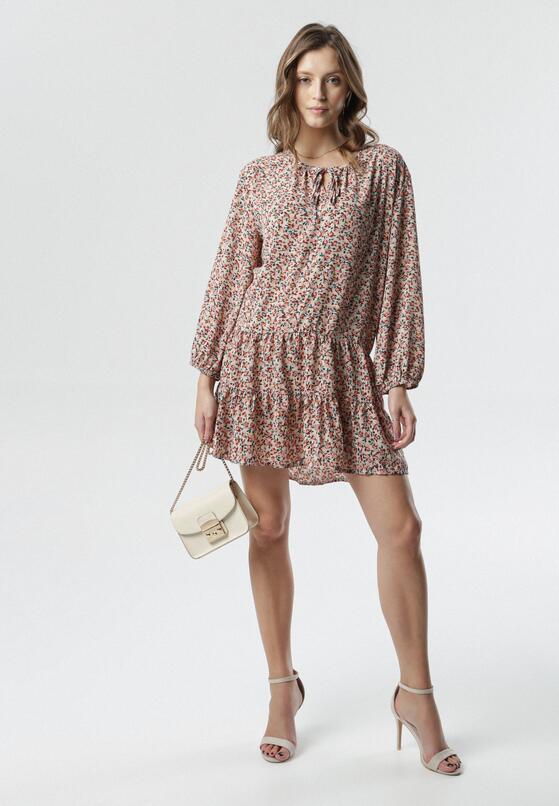 Beżowa Sukienka Hartley