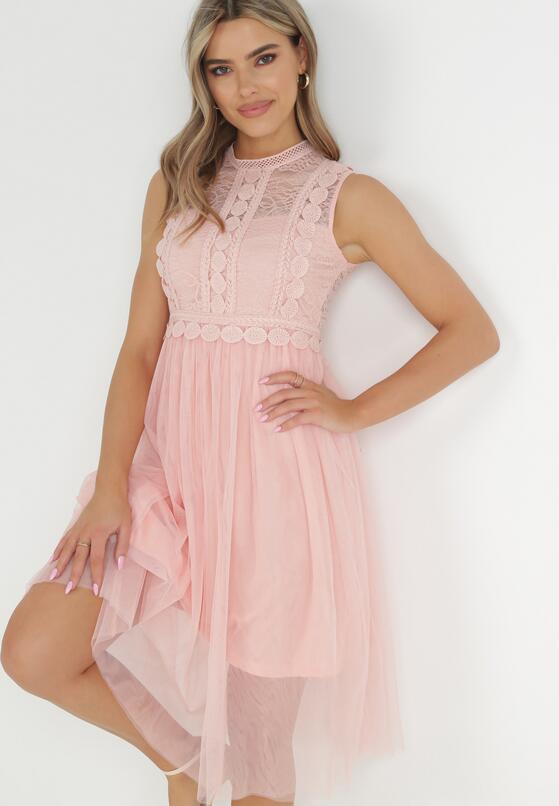 Różowa Sukienka Ortiz