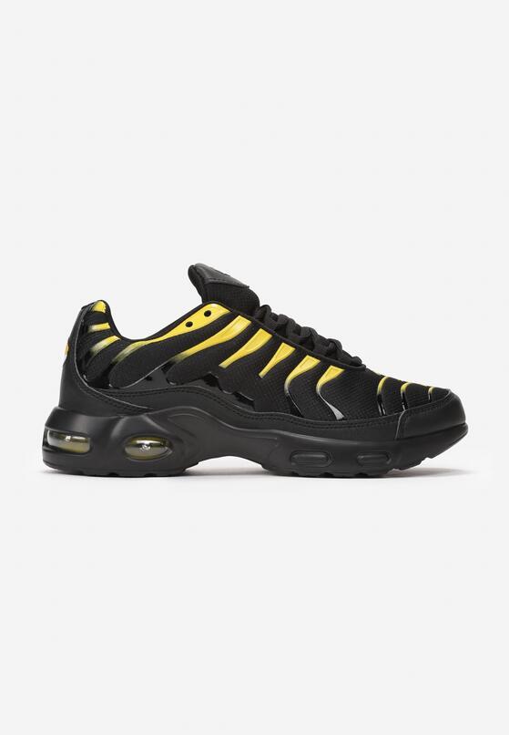 Czarno-Żółte Buty Sportowe Sizable