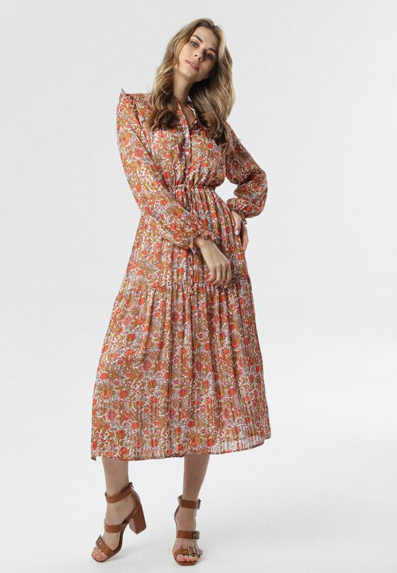 Pomarańczowa Sukienka Lullie
