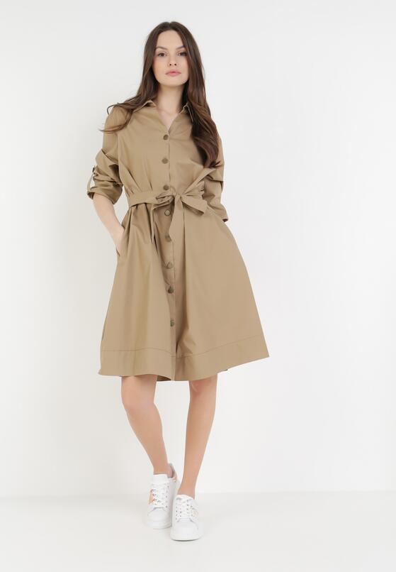 Beżowa Sukienka Sanah
