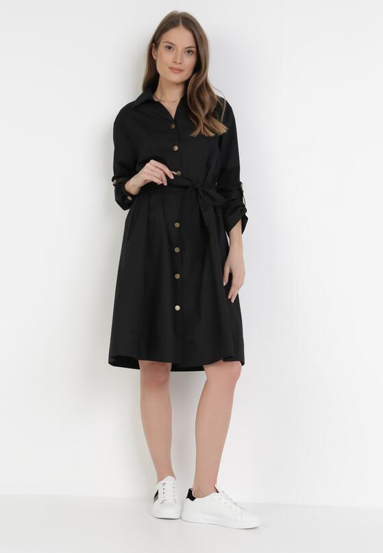 Czarna Sukienka Sanah