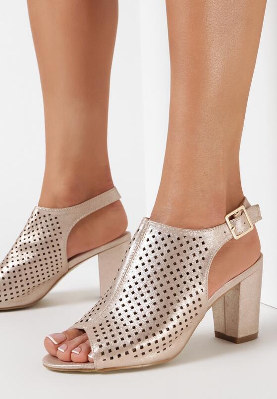 Szampańskie Sandały Marcelie