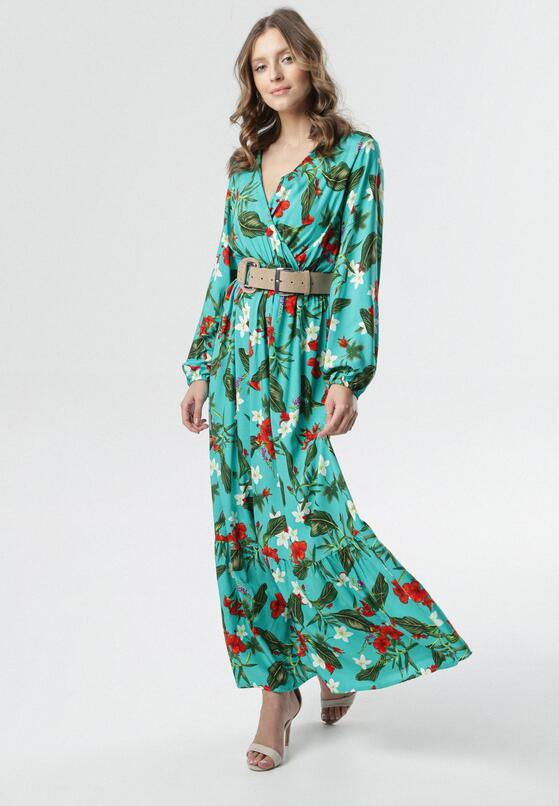 Ciemnozielona Sukienka Jean