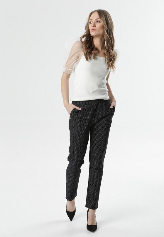 Czarne Spodnie No Tears
