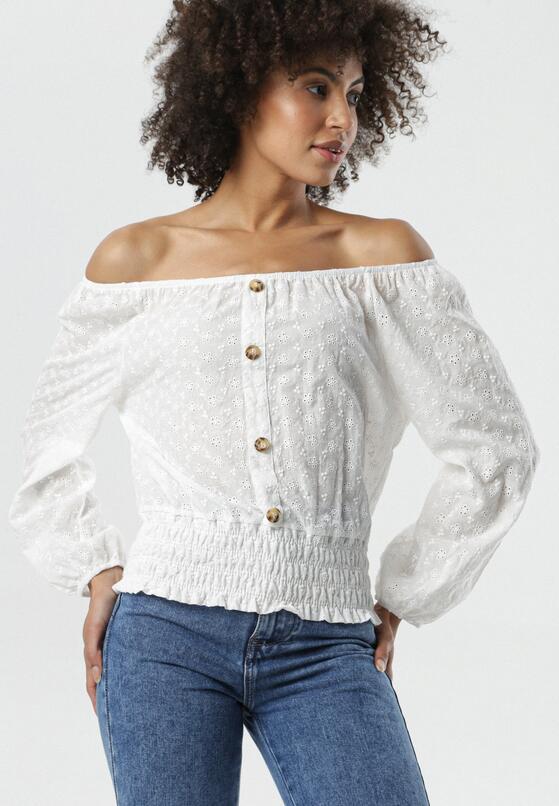 Biała Bluzka Georgie