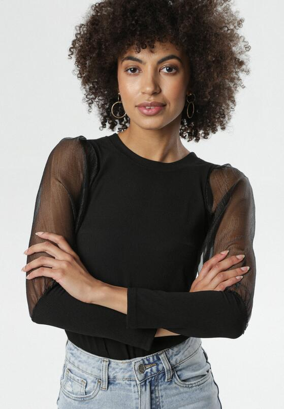 Czarna Bluzka Garcia