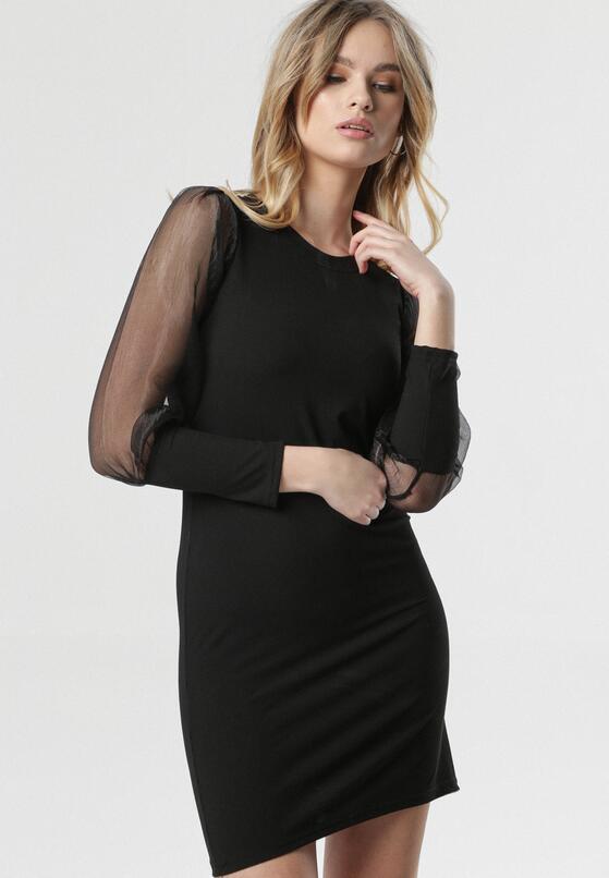 Czarna Sukienka Whiteley