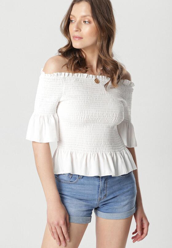 Biała Bluzka Maxima