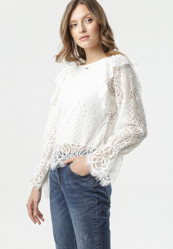 Biała Bluzka Noely