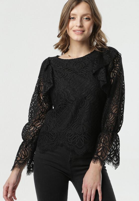 Czarna Bluzka Noely