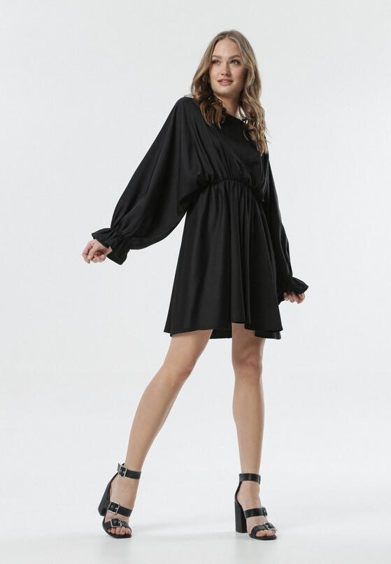 Czarna Sukienka Sistine