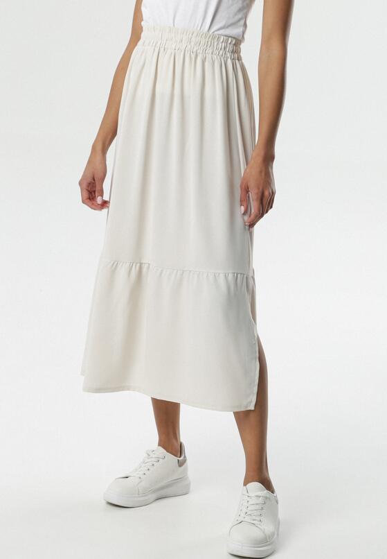 Kremowa Spódnica Tana