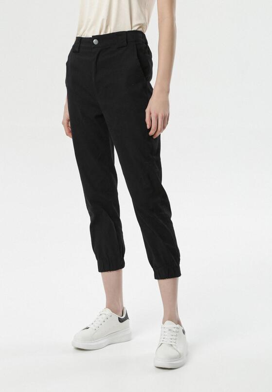 Czarne Spodnie Zelipea