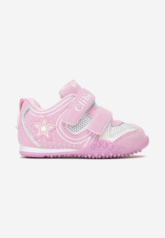 Różowe Buty Sportowe Celareino
