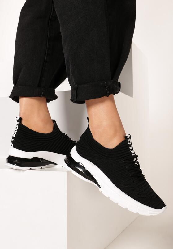 Czarne Sneakersy Neomeris