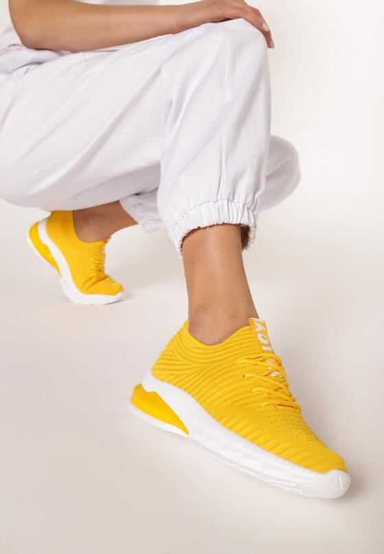Żółte Sneakersy Neomeris