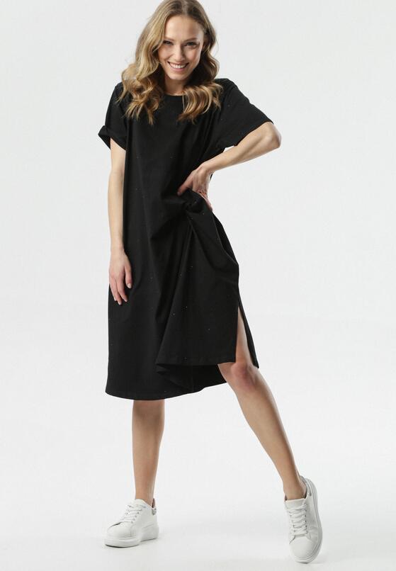 Czarna Sukienka Atlentea