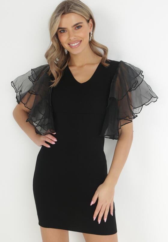 Czarna Sukienka Dexamene